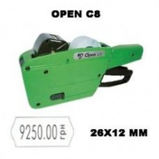 Этикет пистолет Open C8