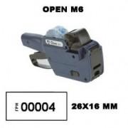 Этикет пистолет Open M6