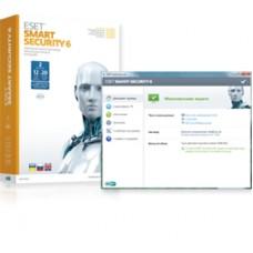 Антивирус ESET Smart Security 6 1Y 2User BOX