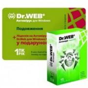 Антивирус Dr.Web Антивирус на 12 месяцев, на 1ПК (продление лицензии, скретч-карта) + Dr.Web для Windows Mobile