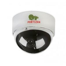 Купольная цветная видеокамера Partizan CDM-VF32H, Купольные видеокамеры, доставка, гарантия, любой способ оплаты