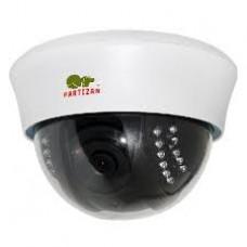 Купольная цветная видеокамера Partizan CDM-VF33H-IR, Купольные видеокамеры, доставка, гарантия, любой способ оплаты