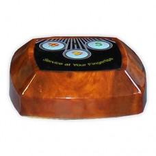 Кнопка вызова официанта HCM-130, Системы вызова официанта и персонала, звонки, доставка, гарантия, любой способ оплаты