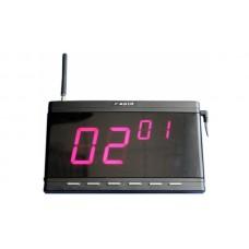 Приемник вызовов официантов HCM-1300, Системы вызова официанта и персонала, звонки, доставка, гарантия, любой способ оплаты