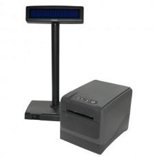 Фискальный регистратор МІНІ-ФП81.01 с дисплеем покупателя Posiflex PD-2600
