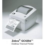 Настольный принтер печати этикеток Zebra GC420d