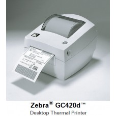 Настольный принтер печати этикеток Zebra GC420d, Принтеры печати этикеток, доставка, гарантия, любой способ оплаты