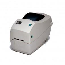 Настольный термопринтер печати этикеток Zebra TLP 2824 Plus, Принтеры печати этикеток, доставка, гарантия, любой способ оплаты